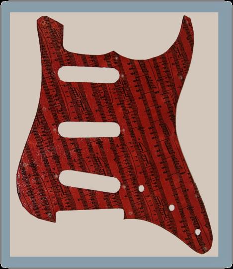 Fender-St-Style pickguard 1