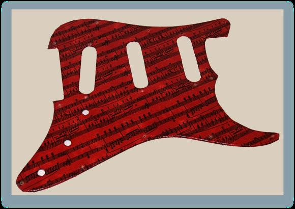 Fender-St-Style pickguard 4