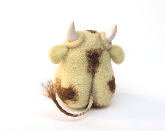Cute Bull 0 - An Art Toy Wool Pleasure by VladaHom on etsy.com