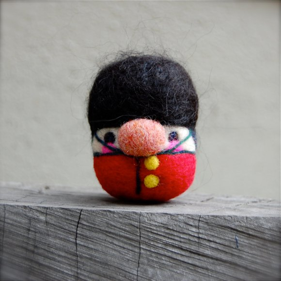 Britain - Wooly Egg Toy by asherjasper on etsy.com