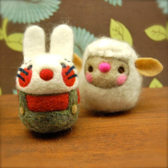 Funny Wooly Egg Toy by asherjasper on etsy.com
