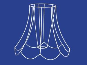 Telaio Pagoda Smerlata - Scallop Square Bell Frame