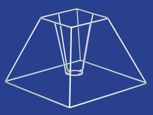 Telaio Piramide - Square Coolie Frame