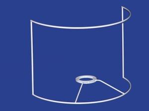 Telaio Ventola - Round Shield Frame