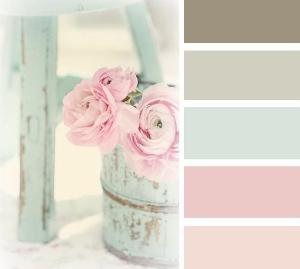 Vintage Azul - Shabby Chic Colour Palette