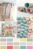Vintage Shabby Chic Colour Palette