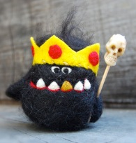 Monster KIng by asherjasper on etsy.com