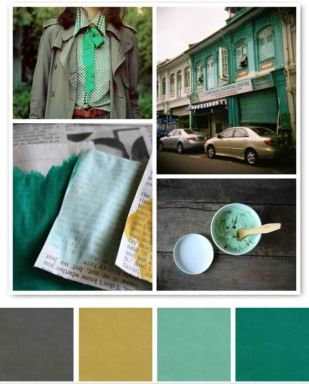 City - Green Power Colour Palette