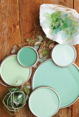 Vintage - Green Power Colour Palette