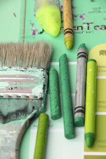 Pastel Tint - Green Power Colour Palette