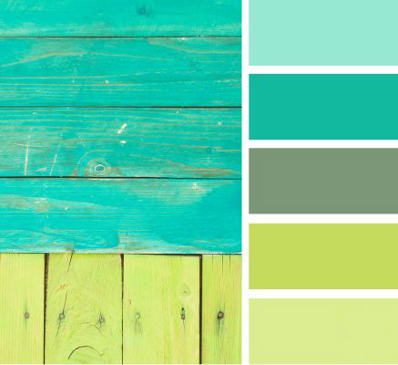 Rustic - Green Power Palette