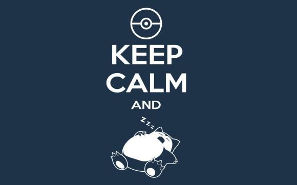 Keep Calm & ZZZ