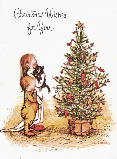Merry Christmas by Holly Hobbie