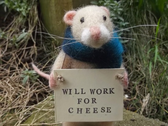 Will Work for Cheese