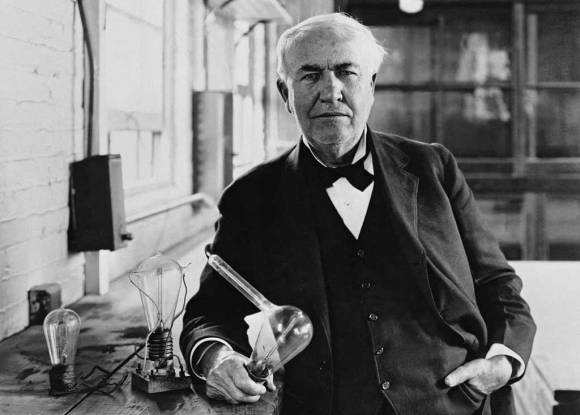 Thomas Edison - Light Bulb